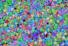Stars confetes Imagens de Stock