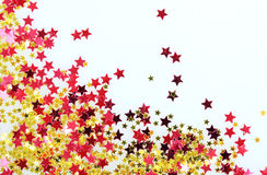 Stars confetti Royalty Free Stock Photo