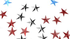 Stars 3D illustration Royalty Free Stock Image