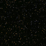 Stars in dark space Royalty Free Stock Photography