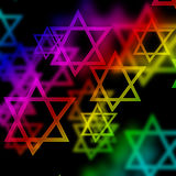 Stars of david Stock Photo