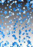 Stars for decorative backgrounds Stock Photography