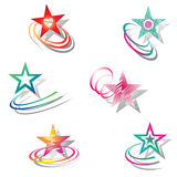 Stars. Design elements set. Stock Photo