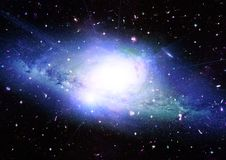 Free Stars, Dust And Gas Nebula In A Far Galaxy Royalty Free Stock Images - 158195659