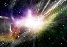 Stars, dust and gas nebula in a far galaxy. Elements of this image furnished by NASA Stock Image