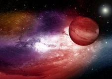 Stars, dust and gas nebula in a far galaxy. Elements of this image furnished by NASA Stock Photography