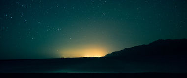 Stars on the Egyptian sky. Night scenic landscape: stars on the Egyptian sky Stock Photography