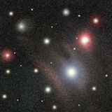 Stars el fondo Foto de archivo