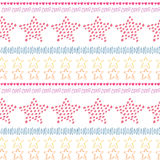 Stars ethnic seamless pattern background. Fashion textile print or package design Stock Images