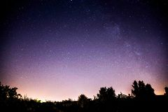 Stars are everywhere - Milkyway Stock Photos