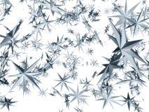 Stars falling Royalty Free Stock Image