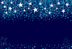 Stars falling from the sky Stock Photography