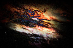 Stars field of space in the universe Stock Image