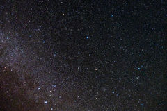 Stars fill in the sky Stock Images