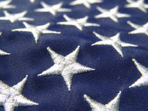 Stars on flag Royalty Free Stock Photo