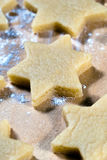 Stars in the flour Royalty Free Stock Image