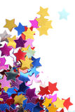 Stars in the form of confetti Stock Photography