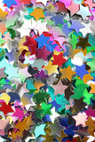 Stars in the form of confetti Royalty Free Stock Photo