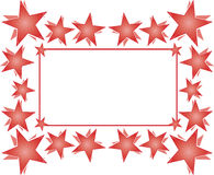 Stars frame Royalty Free Stock Image