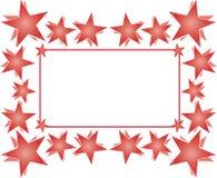 Stars frame Royalty Free Stock Image