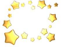 Stars frame Stock Photo