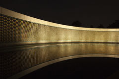 Stars of Freedom wall at the World War II Memorial in Washington Royalty Free Stock Images