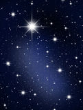 The stars and galagy. Royalty Free Stock Photography