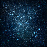 Stars and galaxies Stock Photography