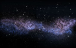 Stars or galaxy in night sky Royalty Free Stock Images