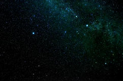 Stars and galaxy outer space sky night universe background Stock Images
