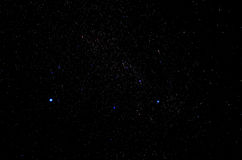 Stars and galaxy outer space sky night universe background stock photos