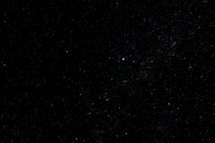 Stars and galaxy outer space sky night universe black starry background, starfield. Stars and galaxy outer space sky night universe black starry background of stock images