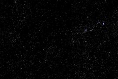 Stars and galaxy outer space sky night universe black starry background, starfield. Stars and galaxy outer space sky night universe black starry background of royalty free stock images