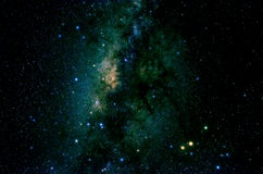 Stars and galaxy space sky night background Stock Photography