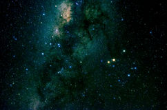 Stars and galaxy space sky night background. Africa Royalty Free Stock Images