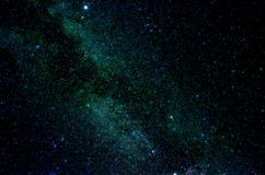 Stars and galaxy space sky night background. Africa Royalty Free Stock Image