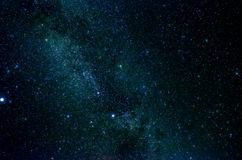 Stars and galaxy space sky night background. Africa Stock Images