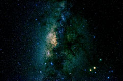 Stars and galaxy space sky night background. Africa Stock Photo