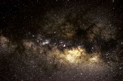 Stars and galaxy space sky night background Stock Image
