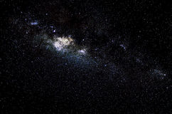 Stars and galaxy space sky night background Royalty Free Stock Photos