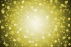 Stars - gold Stock Photo
