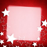 Stars greeting card Stock Images