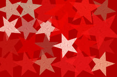 Stars grunge pattern abstract illustration Royalty Free Stock Image