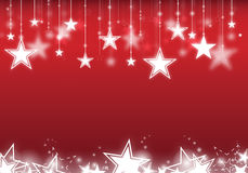 Stars hanging down Royalty Free Stock Photo