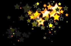 Stars Hintergrund Lizenzfreies Stockfoto