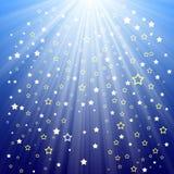 Stars Hintergrund Stockbild