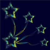 Stars i motivi Fotografie Stock Libere da Diritti