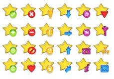 Stars icon Stock Photo