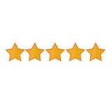 5 stars icon image. Vector illustration design Royalty Free Stock Image