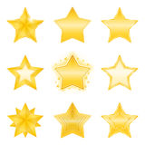 Stars Icons Stock Photos